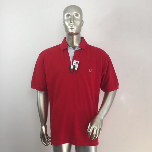Tommy Hilfiger Other - Tommy Hilfiger Red Polo Shirt for Man Large